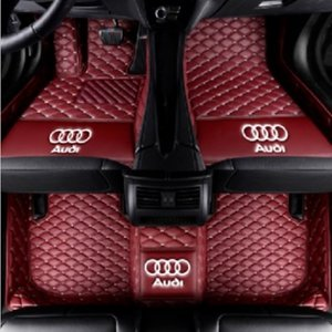 Adecuado para Audi TT TTS TTRS 2008-2017 Alfombrilla impermeable para el piso Alfombra no tóxica ecológica