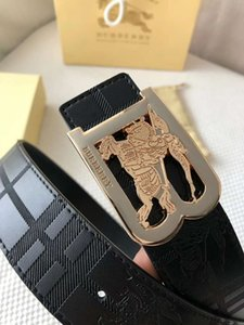 Jeans negro de cuero de la correa de los pantalones vaqueros Nueva Amarillo Verde Azul hombres de cinturones de moda del vaquero de cuero genuino correa de la empuñadura