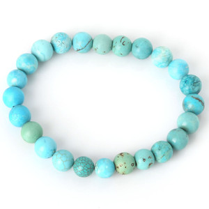 2019 Fashion Natural Stone Bracelets For Women Men 8mm Amethysts Quartzs Lapis Lazuli Round Beaded Stretch Bracelets Bangles
