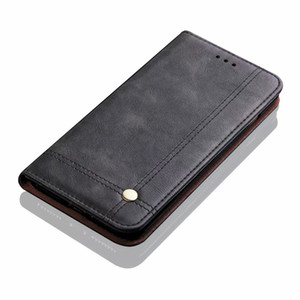 Luxury Vintage Leather Flip Magnetic Card Slot Wallet Cover Case for Samsung S10 S20 Ultra Note10 A20 A30 A40 A50 A60 A70 A80 A90 A31 A51 A7