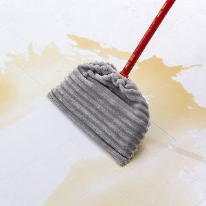 Útiles de limpieza plato reutilizable microfibra absorbente fregona del hogar del paño de terciopelo Coral escoba cubierta del paño spray fregona del piso