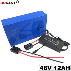 전자 자전거 배터리 48 볼트 12Ah 리튬 배터리 팩 13 초 48 볼트 전기 자전거 배터리 Bafang 48 볼트 350 와트 500 와트 800 와트 모터 무료 배송
