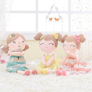 INS 3 couleurs Gloveleya Poupées en peluche fille de printemps Baby Doll Cadeaux Tissu Poupées enfants Rag Doll Jouets en peluche Kawaii