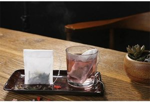Empty Teabags Tea Bags String Heal Seal Filter Paper Teabag 5.5 x 7CM for Herb Loose Tea