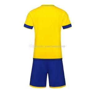 FC più nuovi 2019 20 maglie Mens maglie calcio vendita calda Calcio Wear tuta gialla