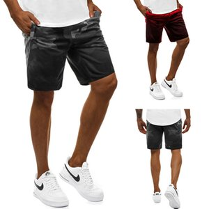 Erkek Kamuflaj Baskılı Sports Şort Aktif Stil Nefes Gevşek Eğitim Kısa Pantolon Erkek Desgner Giyim Running