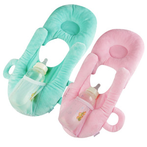 Nicely Multifunction Newborn Baby Sleep Pillow Nursing Prevent Flat Head Plush Toy Cushion Doll Pad Wholesale