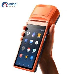 terminale PDA Mobile Android Handheld POS dello schermo di tocco di 58 millimetri stampatore della ricevuta JEPOD JP-V2 Pro Sunmi POS con PDA WIFI Bluetooth 4G supporto OTG