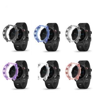 TPU Shell pour Garmin Fenix 5X 5 Plus Protecteur 5S souple TPU Protect Case Shell Montre mince Housse de protection Accessoires Watchband