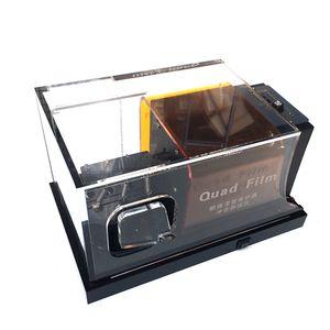 Orange TPU PPF Films Rasca y pruebas de pintura de alta calidad del coche Película de protección Gravelómetro prueba de la máquina MO-620