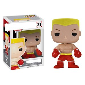 2020 New funko pop Rocky Ivan Drago 21 # popular anime action figures hand office PVC dolls toys Furnishing articles Gifts