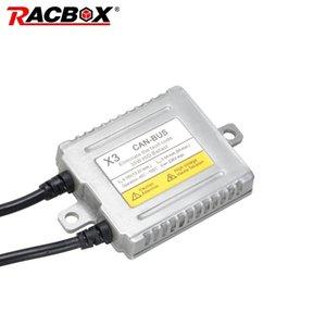 RACBOX original X3 35W HID lastre 12V Fast Start Canbus balastos HID Reactores de xenón del coche faros con bombillas de estilo Car Kit