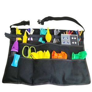 AFBC Multi Pocket Apron Tool for Magic Balloon Clown Show Balloon Tool Bag Accessories Magic Bag Storage Boxes & Bins