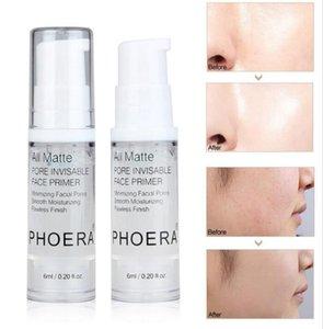 Nuevo PHOERA 6ML 18ML Base de maquillaje Base Control de aceite Base hidratante duradera Base de maquillaje facial