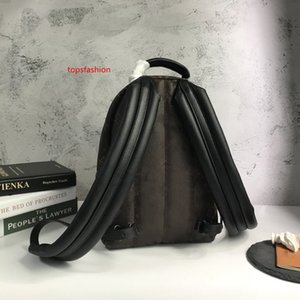 High quality Palm Springs Backpack genuine leather MONOGRAM BACKPACK fashion luxury bags printing designer backpack M41560 school bag