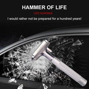 Auto Escape de Emergencia Broken herramienta de rescate de coche de seguridad martillo cortador rotura de cristal de ventana de escape del coche herramienta de rescate martillo