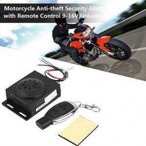 мотоцикл сигнализация Мотоцикл Противоугонная система охранной сигнализации с дистанционным управлением 9-16V универсальной защиты