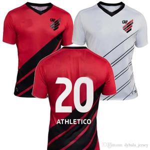 2019 أتلتيكو باراناينس كرة القدم جيرسي 19/20 home red # 19 بارانينسي # 20 قميص كرة القدم أثليتيكو بعيدا الأبيض لكرة القدم الموحدة
