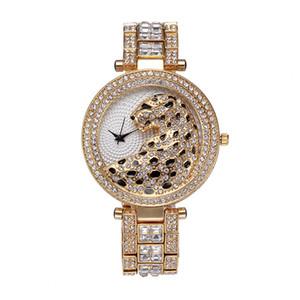 bijoux de luxe designer femmes diamant léopard montre bracelet en or montres de luxe Montre de luxe agréable nouvelle horloge féminine