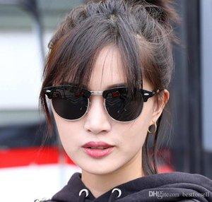 Мода классический солнцезащитные очки Мужчины Женщины солнцезащитные очки Солнцезащитные очки человек клубы мастеров дизайнеров ток очки зеркало оттенки с чехол коробка