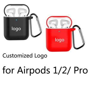 سيليكون لينة حالة لAirpods 1/2/3 برو اقية Cpver لاسلكي جديد حالة سماعة لينة مخصص شعار شحن مجاني
