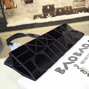 Designer-Frauen Taschen Gesunde dauerhafte Acryl unregelmäßige geometrische Formen beiläufige Beutel frei zu falten 34cm Fabrikpreis großvolumige Shopping