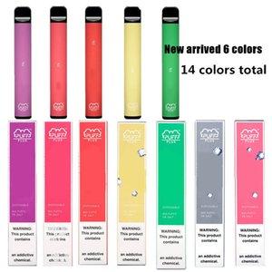 Новые Puff Plus Одноразовые устройства 800 Puff 3,2 мл Pre Заполненный Pod Vape Картридж 550mAh Батарея класса