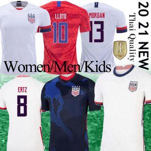 2020 Erkekler Kadınlar Kid Futbol Formalar 19 Dünya Kupası şampiyonu Lloyd Christian Pulisic Alex Morgan Julie Ertz Basın Yedlin Altidore Futbol gömlek