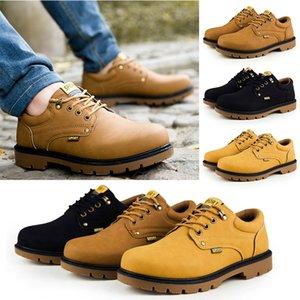2020 nouvelle arrivée mode martin bottes jaunes espadrilles noires de qualité gris haute pour hommes femmes à faible chaussures taille 39-46