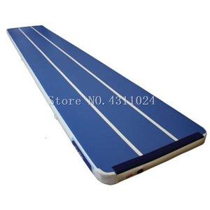 Freies Verschiffen 9x1x0,2m Air Track Taumelmatte für Gymnastik Aufblasbare Airtrack Fußmatten Aufblasbare Gym Air Mat Gymnastik