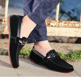 The Driving Shoes Loafers Men Shoes hococal New Men Loafers Luxury High Quality Flat Single Shoes For Men's Casual Shoe free shipping