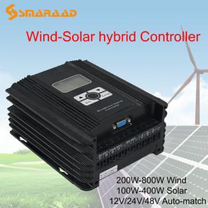Rüzgar Jeneratörü Güneş Paneli Rüzgar Türbini için MPPT 1000w 1KW Güneş Rüzgar Hibrit Kontrol PWM 24V 48V Automatica Regülatörü