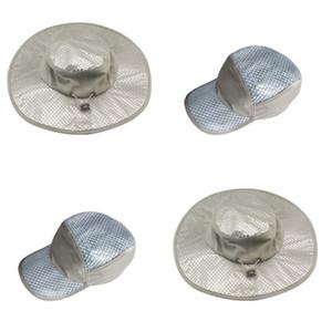 Sunscreen Cooling Ice Cap Calor Prevenção de Refrigeração Ar Condicionado Chapéus de Verão Outono Homem Mulheres Bucket Hat Venda Quente 14yn2 L1