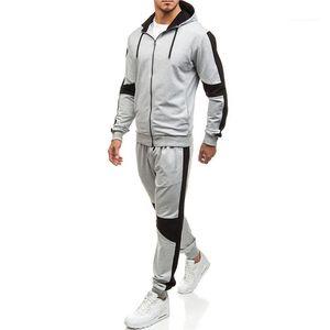 Vêtements Homme Basketball Casual Vêtements pour hommes de sport Desinger Survêtements solide Couleur capuche Pantalons manches longues automne