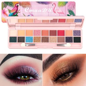 18-color 3D Stereo Eye Shadow Palette Waterproof Non-dizzy Easy To Color Dyeing Shimmer Matte Eyeshadow