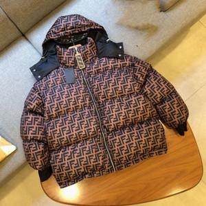 giacche progettista delle donne degli uomini cappotti invernali progettista Moncler Donna FF giacca di cotone di usura di entrambi i lati giacca invernale cappotto con cappuccio di alta qualità