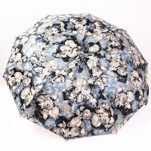 Eco-Friendly Big Strong для двух человек Полностью автоматическая компактная Anti-UV дождя Саншайн ветрозащитный Зонтики для женщин Женская мода