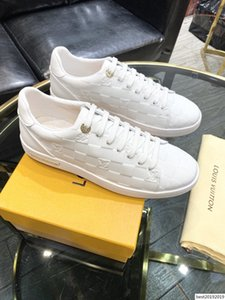 New18 high quality men's casual shoes fashion breathable sports shoes business comfortable men's shoes original box packaging Zapa