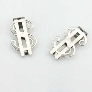 Stainless Steel Money Clip Pocket Wallet Cash US Dollar Card Holder Christmas Gift Card Holder Men Jewelry