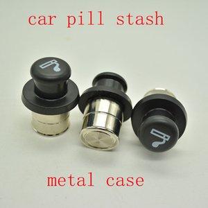 Metal Gizli Stash Sigara Araç Çakmak Şeklinde Gizli Diversion takın Gizli Hap Kutusu Konteyner Hap Olgu Saklama Kutusu