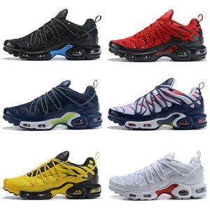 TN 1 Plus One Classic Kids Running Shoes for Women Mens Top Qaulitys Black Red Grey Chaussures Fashion Trainers Sneakers