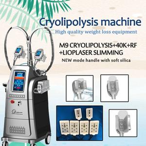 crio máquina de congelação de gordura para emagrecimento rf caivitation multipolar máquina de radiofrequência vácuo cavitação rf sistema de beleza