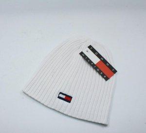 Erkek Beanie Kış Yün Şapka Yeni Moda Bayan Örme Kalınlaşmak Sıcak Beanie Bonnet Cap