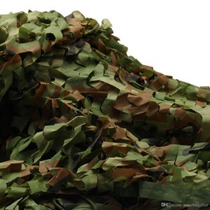 4mx5m Chasse Camouflage Filets 13x16.4ft Woodland Army Camo filet Camping Sun ShelterTent Shade abri du soleil