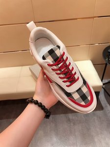 2020 scarpe da uomo firmate Canvas surface printed with letters and grid style luxury brands casual shoes Plate-forme running shoes 572