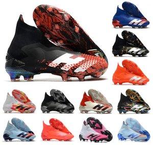Yeni 2020 Predator Mutator 20+ FG PP Paul Pogba Erkek Boys Kayma-On Futbol Futbol Ayakkabı 20 + x Kramponlar Boots Yüksek Bilek Ucuz Boyut 39-45
