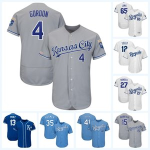 15 Whit Merrifield Alex Gordon Hunter Dozier Jorge Soler Alex Gordon Adalberto Mondesi Chris Owings Ryan OHearn Baseball Jersey