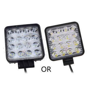 48W Vehicel Farlar 16LEDs Soğuk Beyaz Işık Bar 4inch Araç İş Işık LED Kamyon İçin SUV # 306