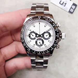2020 venta superior del reloj para hombre simples Cara del oro del acero inoxidable 316L 2813 movimiento automático de la máquina de pulsera hombre de la moda