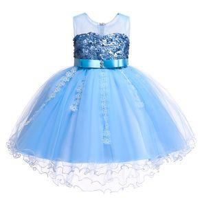 2020 Summer Vintage Dress Costume Kids Dresses For Girls Children Party And Wedding Dress Princess Elegant 3 10 12 Years